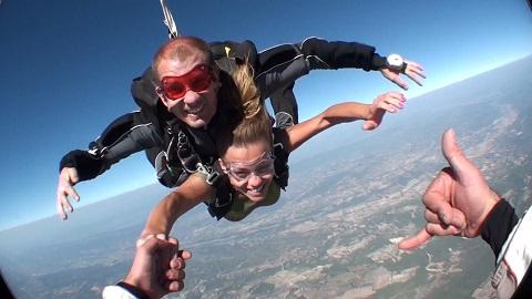 saut en parachute les milles